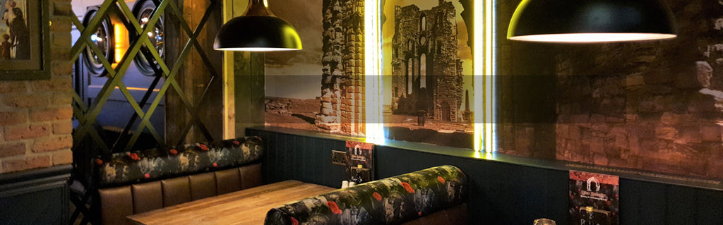 Dog N Watch Wallpaper & Furnishing Fabrics Collaboration Design by ATADesigns &  Arka Chergui at The Priory