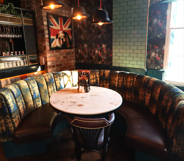 Dog N Watch Wallpaper Design by ATADesigns and Arka Chergui at The Priory in Tynemouth