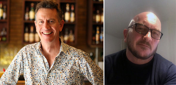 Duncan Watts (Owner) of The Jones Family Kitchen and Matt Rawlinson (Interior Designer) of Raw Design (right)