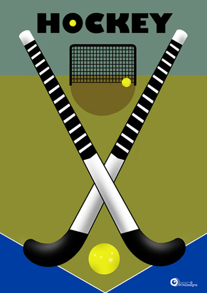 Hockey Poster Design for Runcorn Sports Club by ATADesigns