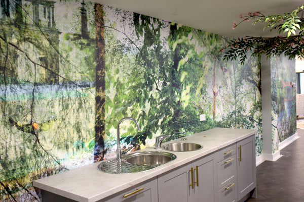 Nature Mural Design by ATADesigns at the Dora Rose Care Home