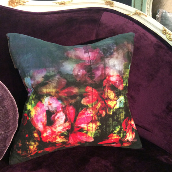 Regents Floral Expression Cushion Design by ATADesigns at the Independent Hotel Show - Business Theatre - London
