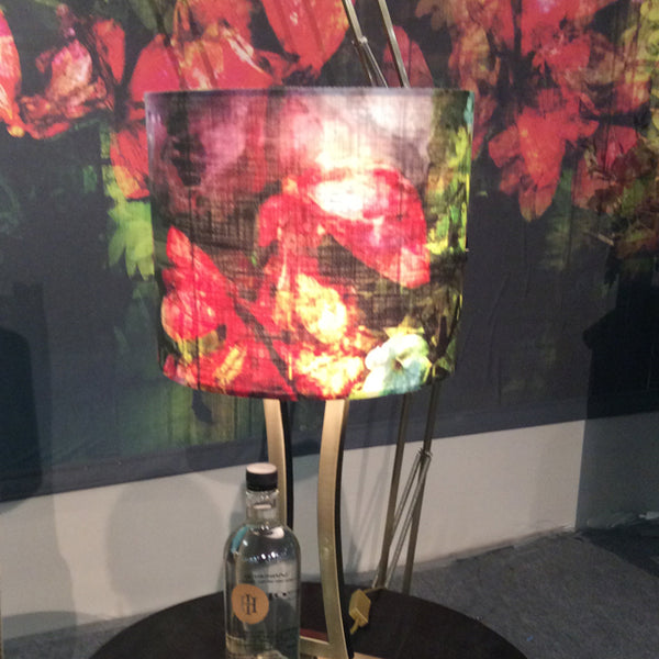 Regents Floral Expression Lampshade Design by ATADesigns at the Independent Hotel Show - Business Theatre - London