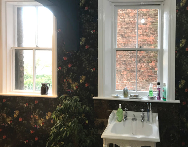 Regents Fresh Floral Wallpaper Design by ATADesigns at Aberley House - Liverpool