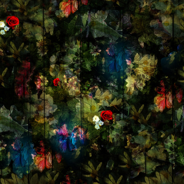 Regents Fresh Floral Wallpaper Design by ATADesigns at The Half Moon Pub - Herne Hill - London - Ineriors by Concorde BGW