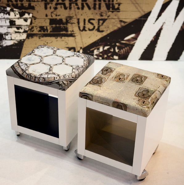 Bespoke Stools part of the Urban London Project at 100% Design Exhibition - London