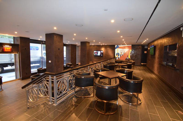 Walters Jazz Lounge Art Deco Mural by ATADesigns at Lexington Hotel - New york.  Project by Tartar Arts Project