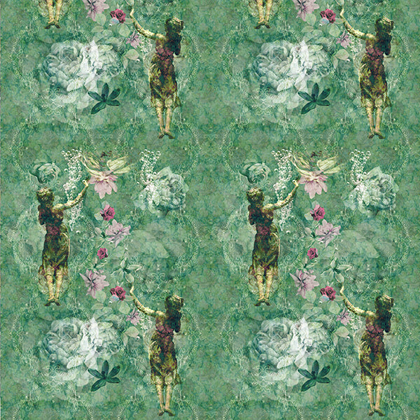 Pearlescent Ladies Wallpaper (green-essence) by ATADesigns