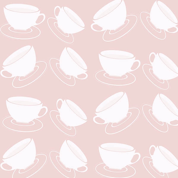 Cuppa Wallpaper (pink) by ATADesigns