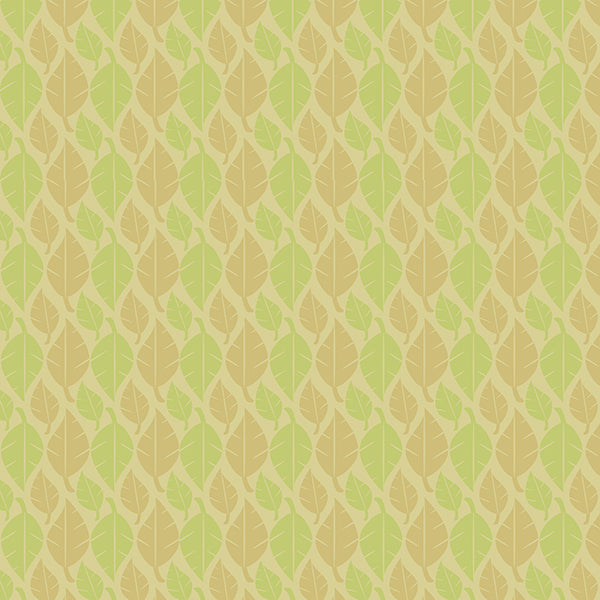 Fallen Leaves (lime-green-linen-on-pastel) by ATADesigns