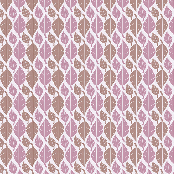 Fallem Leaves Wallpaper (pink-mix) Wallpaperby ATADesogms