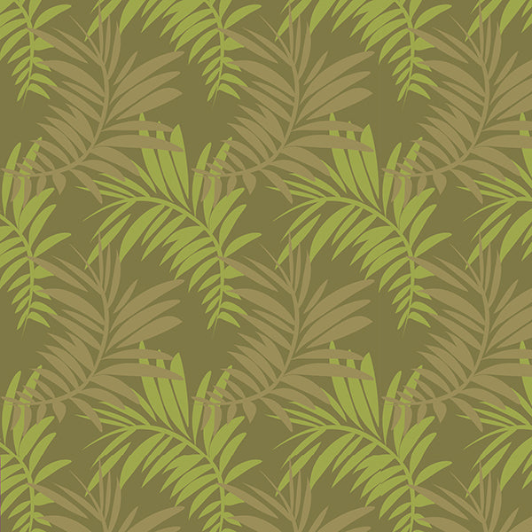 Palm Leaves Wallpaper 1 (lemon-grass) by ATADesigns