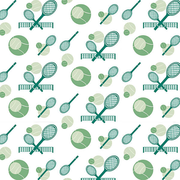 Tennis Game Set Match Wallpaper (original) by ATADesigns