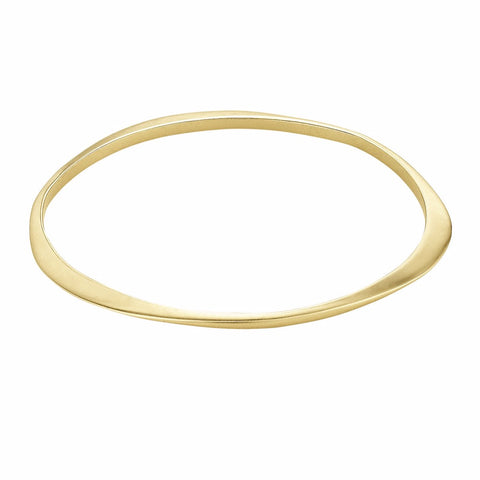 Thin Halo Bangle