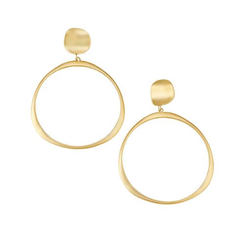 Oversized Origin Hoop Earrings