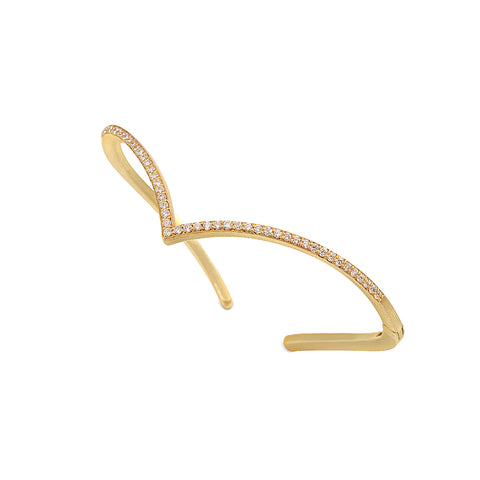 Anniversary Chevron Hinge Bangle