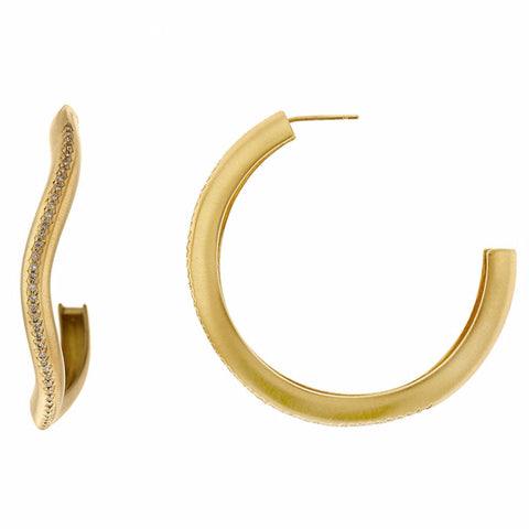 Oversized Canyon Hoops