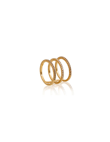 Harmonic Triple-Bar Ring