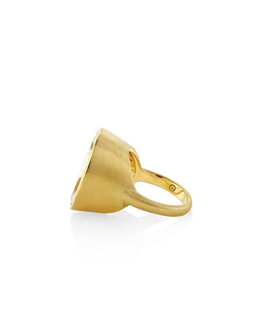 Canyon Oversized Crystal Ring