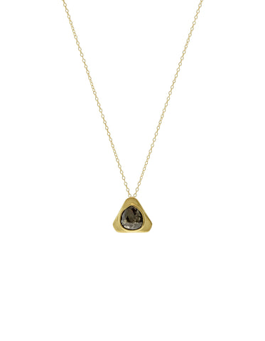 Black Diamond Small Teardrop Pendant