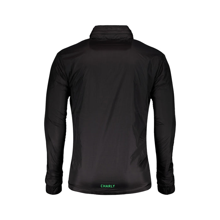 CHAMARRA CHARLY SPORT TRAINING SANTOS PARA HOMBRE, EN COLOR NEGRO