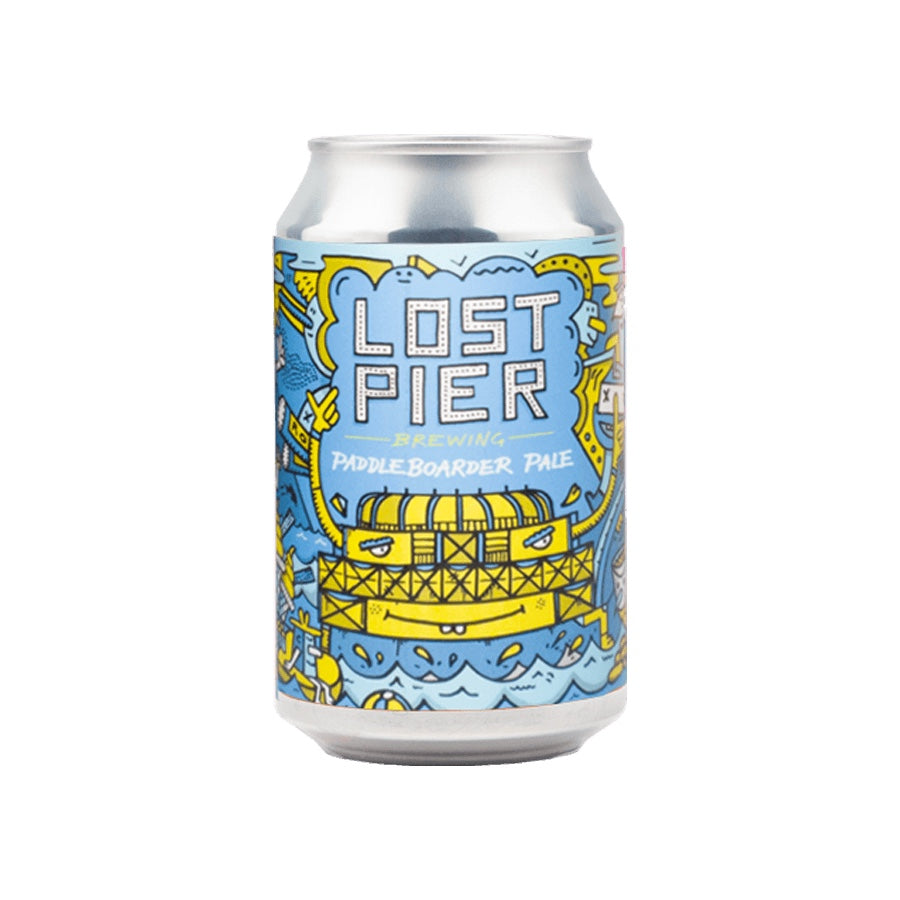 PADDLEBOARDER (LOST PIER) - (Pale // 3.4% ABV // 330ML)