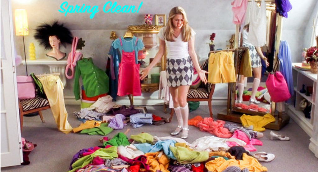 Spring Cleaning... Your Closet!