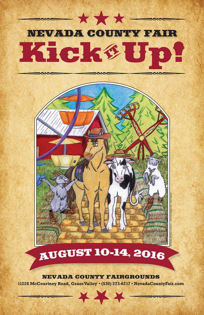 Nevada County Fair Poster