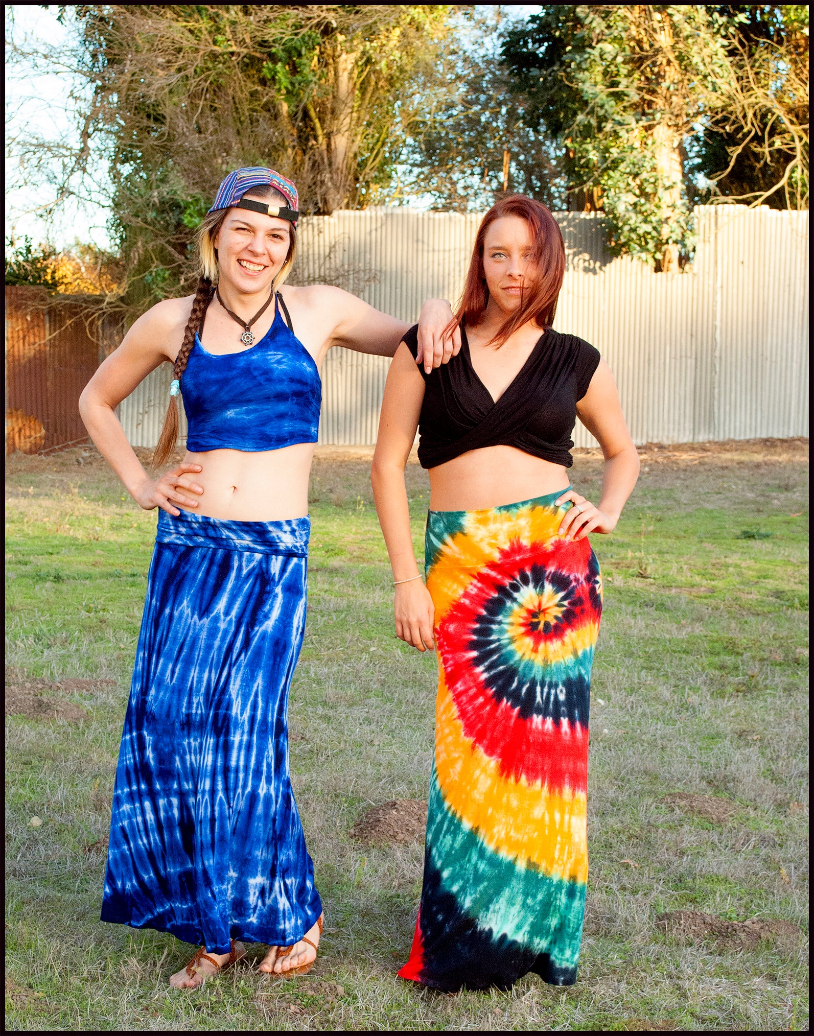 A-Line Maxi Skirts