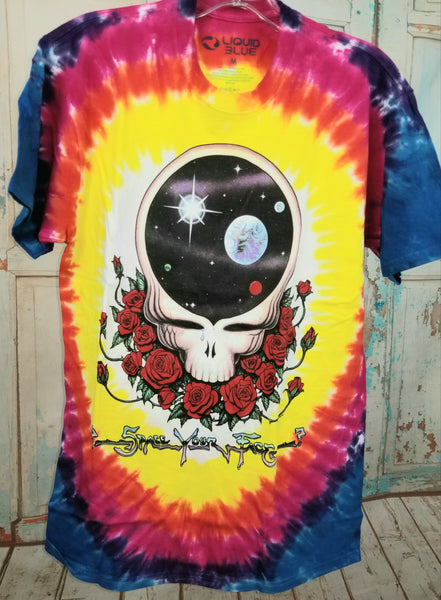 Space Your Face Grateful Dead T-shirt