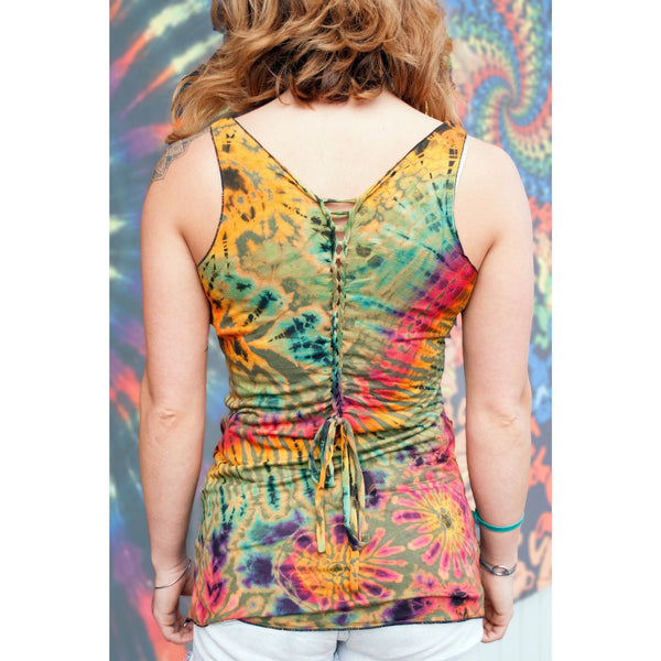 Braided Back Top - Cali Kind Clothing Co.