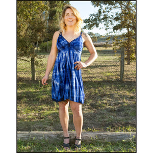 Braided Strap Dress - Cali Kind Clothing Co.