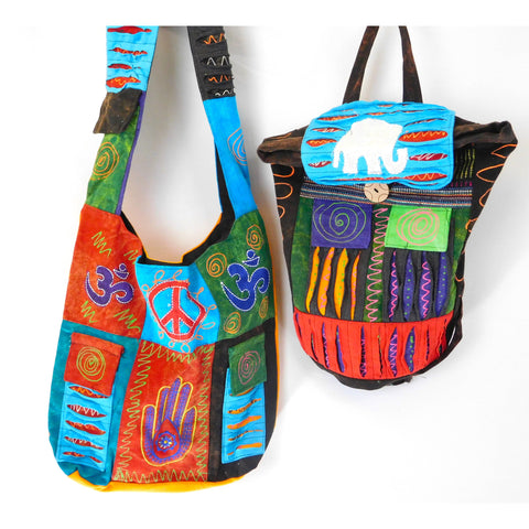 Gypsy Shoulder Bag and Backpack