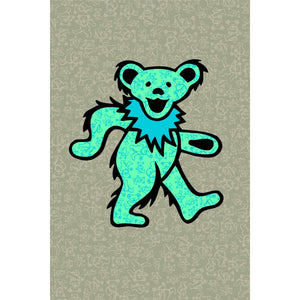 Grateful Dead Bear Pattern Tapestry