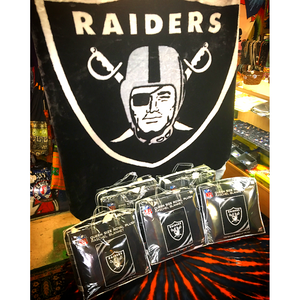 Oakland Raiders Queen Size Blanket