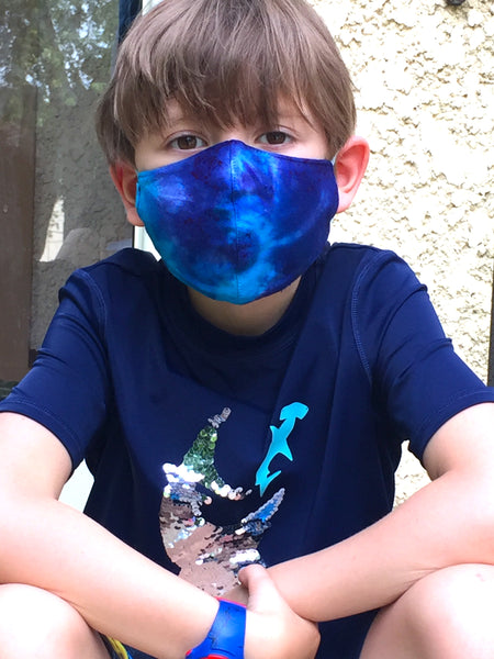 Kids Tie Dye Face Mask