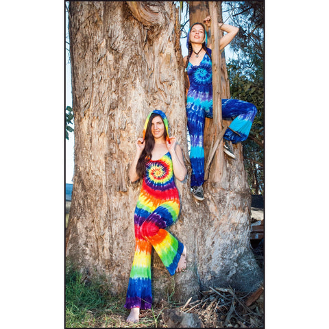 Tie-dye Jumpsuit - Cali Kind Clothing Co.