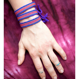 Friendship Bracelet Pack: Purple - Cali Kind Clothing Co.