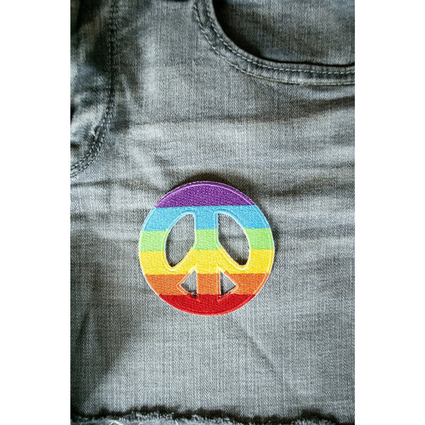 Peace Sign Patch - Cali Kind Clothing Co.