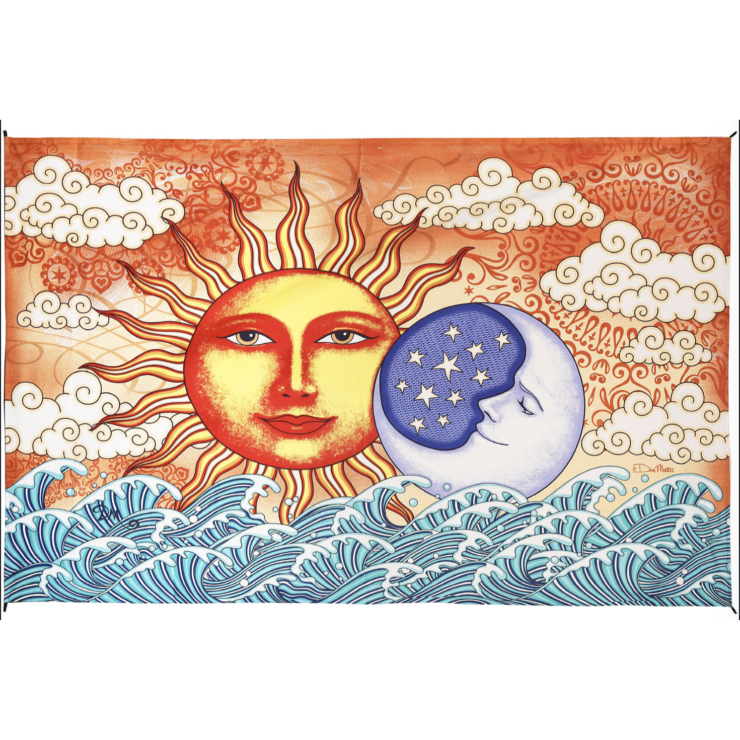 Sun and Moon Ocean Tapestry