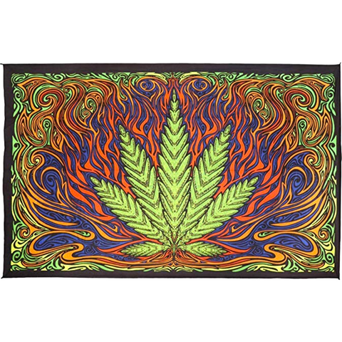 Hot Leaf Tapestry