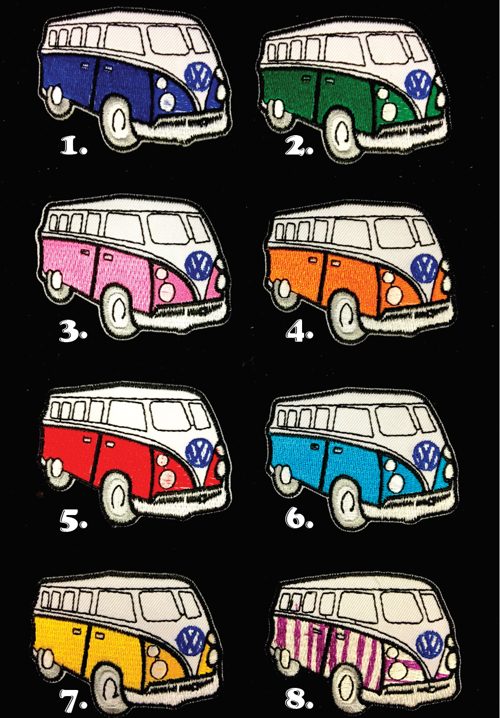 VW Bus Patches