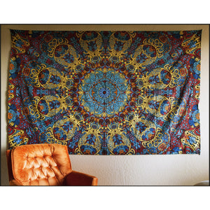 Sunburst 3D tapestry