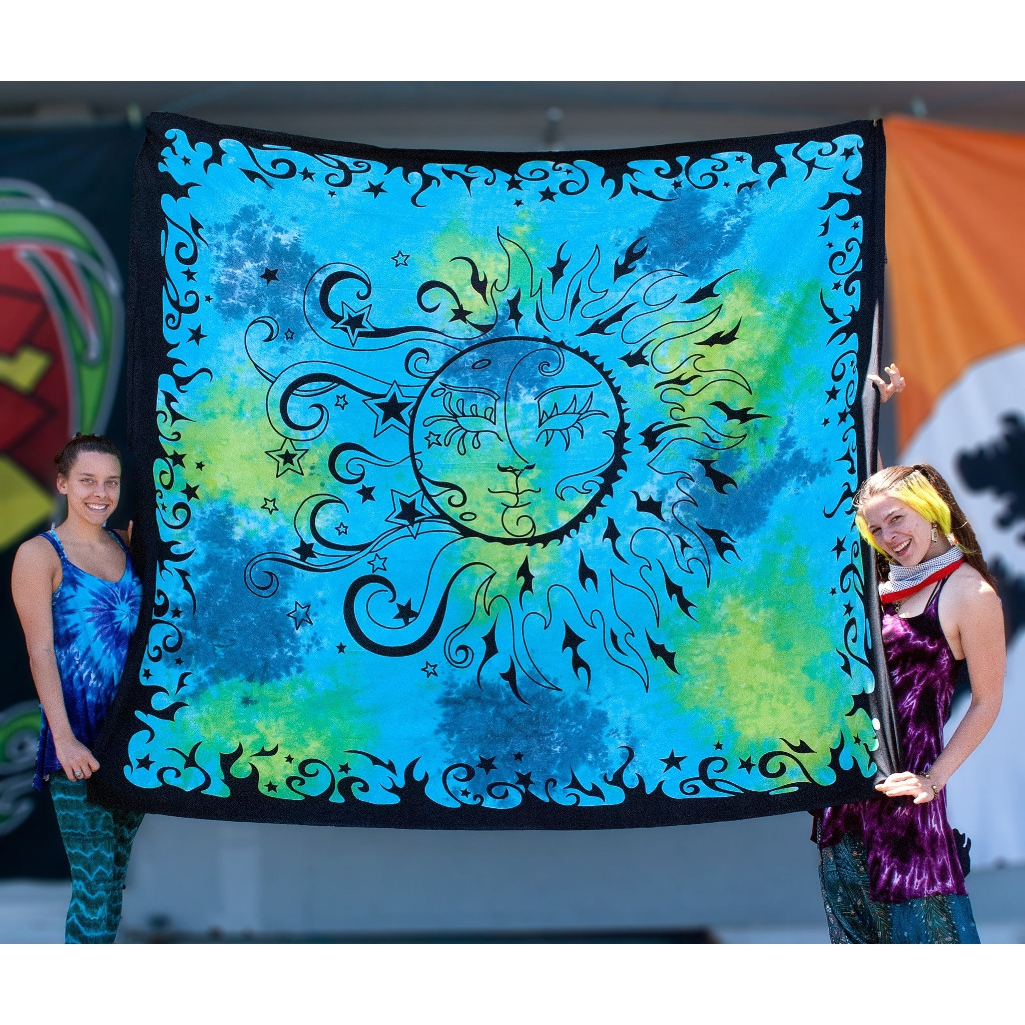 Sun and Moon Double Tapestry - Cali Kind Clothing Co.