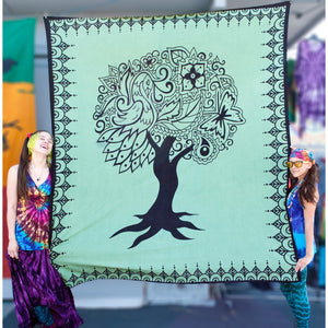 Tree of Life Double Tapestry - Cali Kind Clothing Co.