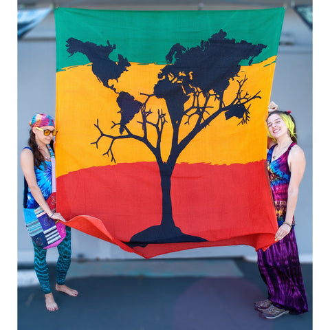 World Tree Double Tapestry - Cali Kind Clothing Co.