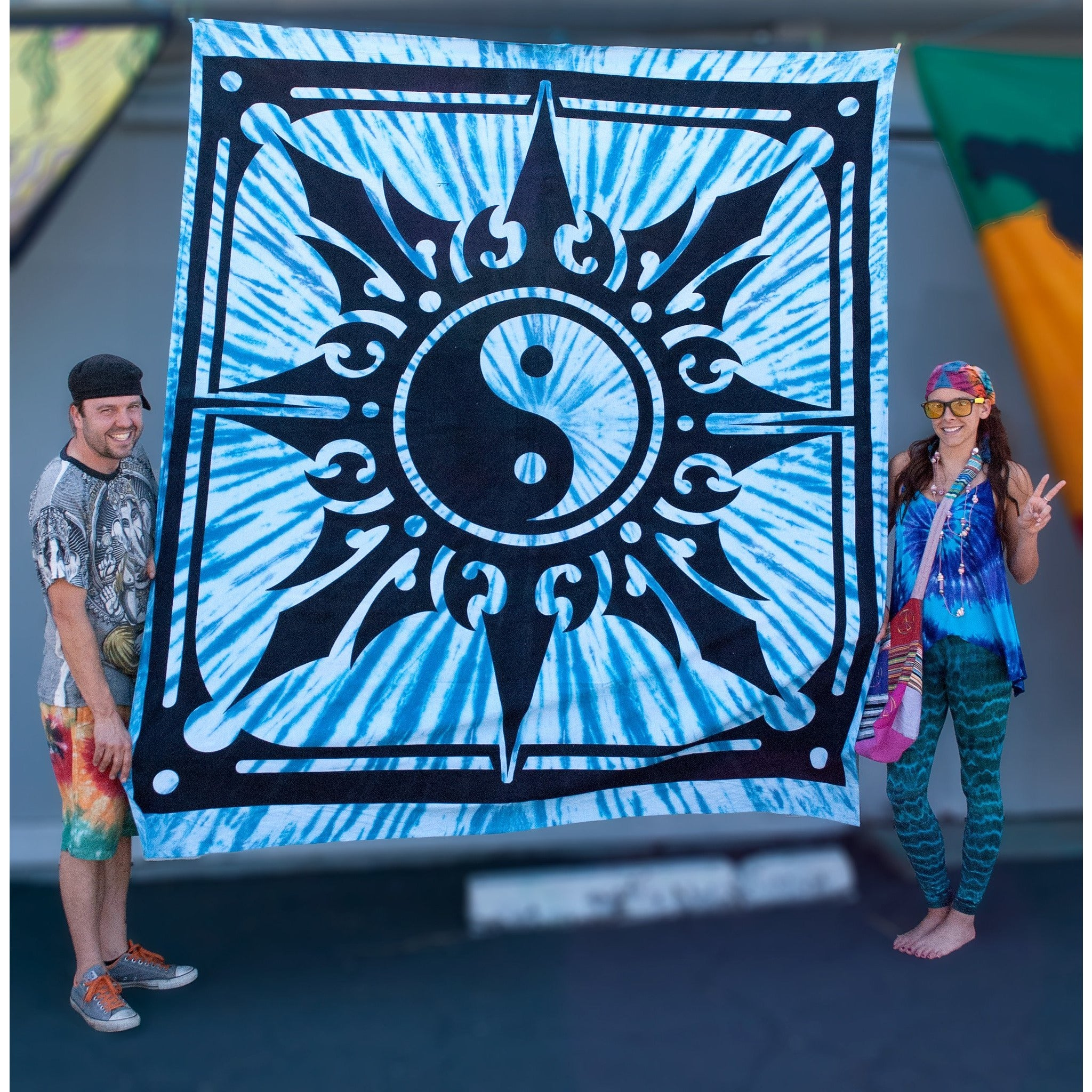 Yin-Yang Double Tapestry - Cali Kind Clothing Co.