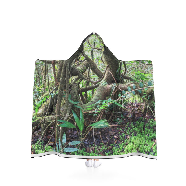 Hooded Blanket - Dancing trees in Tradewinds cloud forest - El Yunque PR