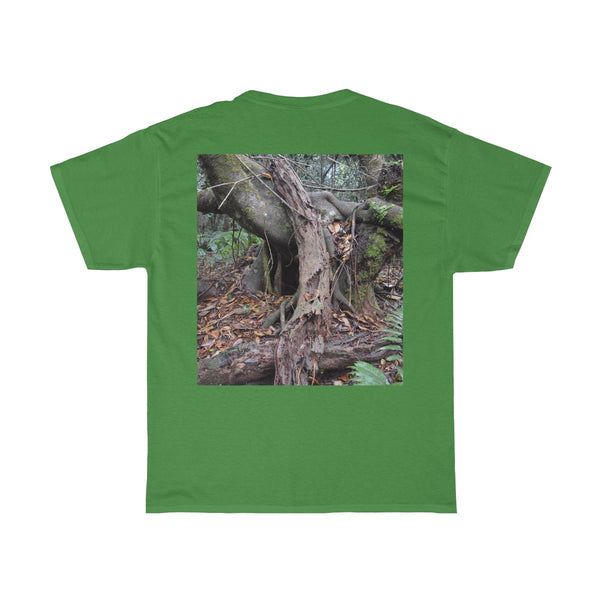 Gildan 5000 - Old Pal and his Tres Amigos - El Yunque rain forest PR - Unisex Heavy Cotton Tee