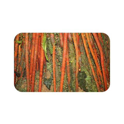 Bath Mat - The roots of the Sierra Palm - El Yunque rain forest